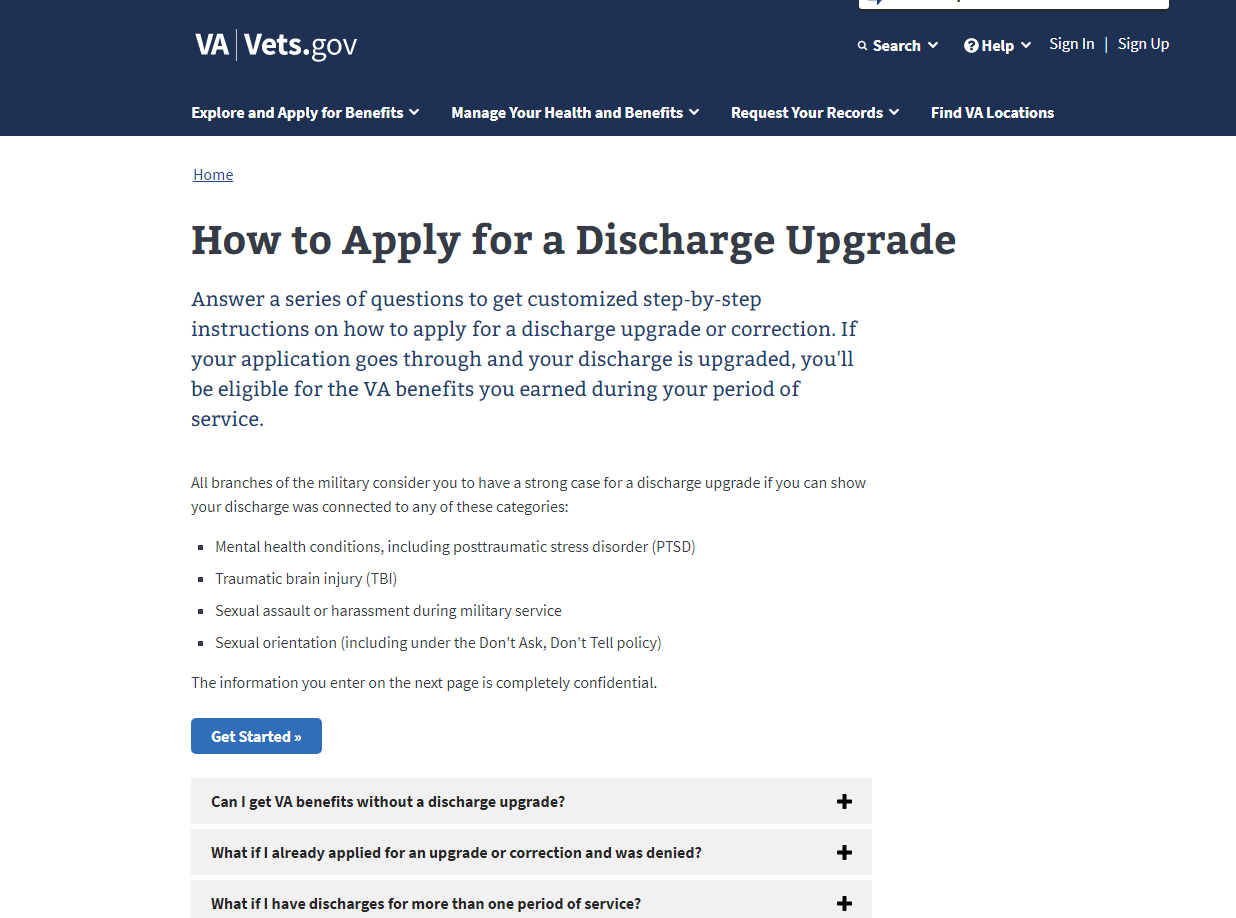 Discharge Upgrade Tool